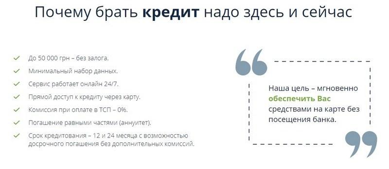 Быстрый кредит на карту от Приватбанка - обзор и отзывы.