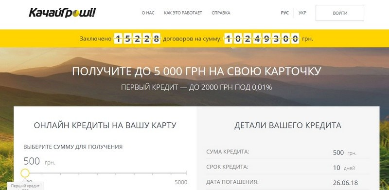 Качай Гроши (Kachay com ua) – обзор и отзывы