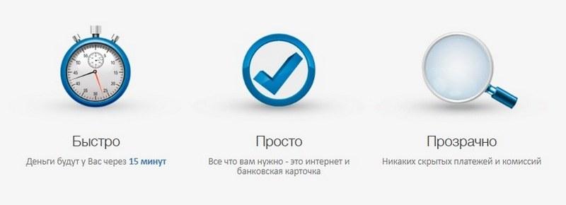 Плюсы КредитОн орг юа