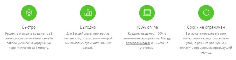 Плюсы Кредит Ап ком юа